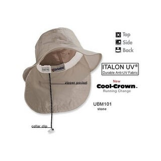 Adams Extreme Vacationer Bucket Cap (UBM101)-White,Large