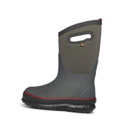Bogs Outdoor Boots Boys Classic Texture Waterproof Insulated