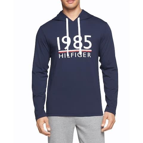 Tommy Hilfiger Mens Sleepwear Large Pullover Nightshirt