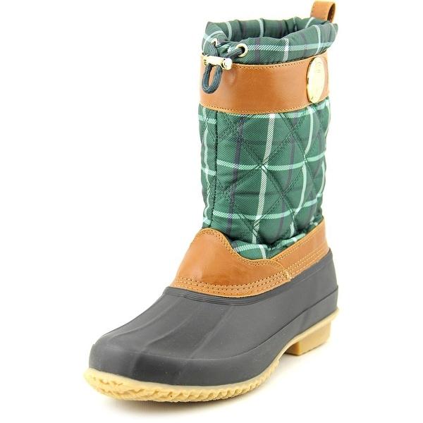 Tommy Hilfiger Arcadia Round Toe Canvas Rain Boot