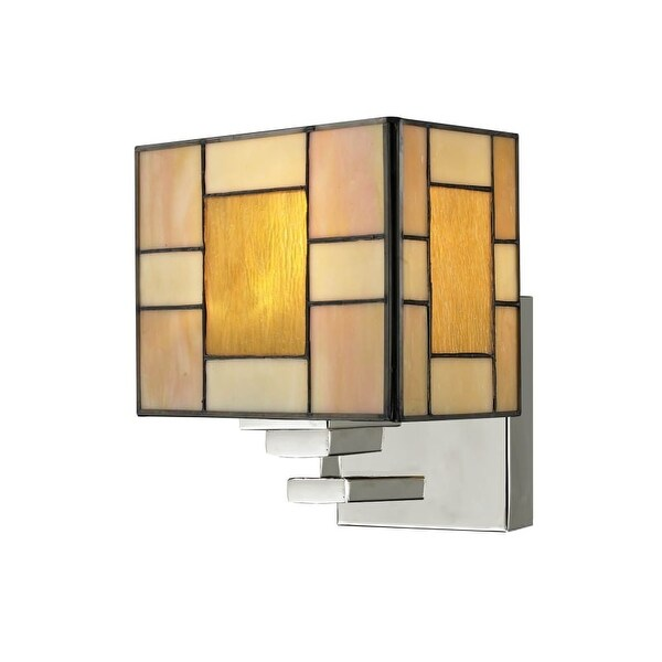 Dale Tiffany TW13016 Trovita 1 Light Wall Sconce - Grey