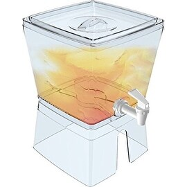 Palais Dinnerware Square Juice and Water Dispenser with stand (1.5 Gallon - 12 inches High)
