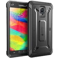 SUPCASE, Samsung Galaxy Note 4 Case , Unicorn Beetle Pro Series Protective Cover with Built-in Screen, Note 4 Case