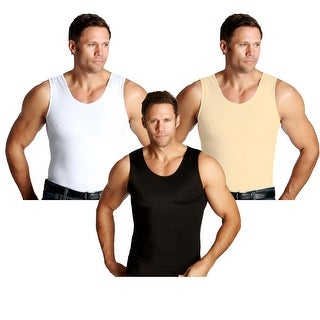 Insta Slim Muscle Tank Firming Compression Slimming Under Shirt