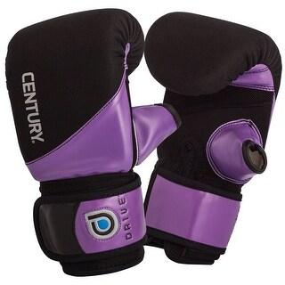 Century Women's Drive Neoprene Hook and Loop Boxing Bag Gloves - Black/Purple