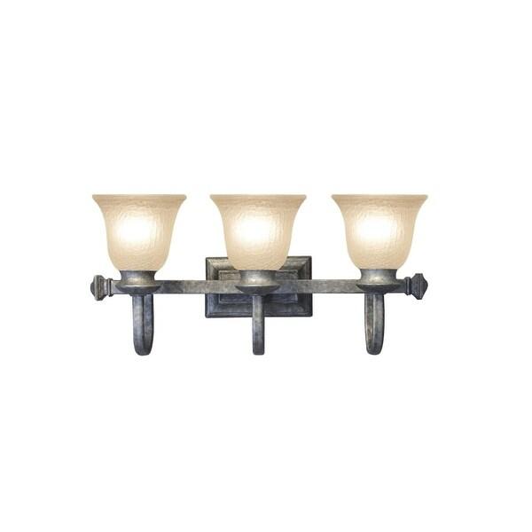 "Woodbridge Lighting 53019 Dresden 3-Light 24"" Wide Vanity Light - n/a"