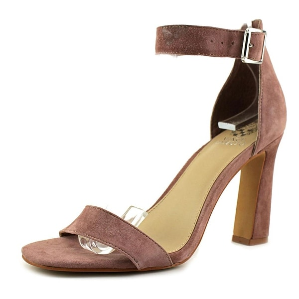 630fcfd3534 Shop Vince Camuto Acelyn Women Open Toe Suede Pink Sandals - Free ...