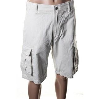 Levi's Mens Cotton Flat Front Cargo Shorts - 30