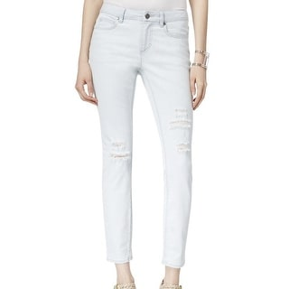 Two By Vince Camuto NEW Blue Women's Size 30X31 Ripped Skinny Jeans