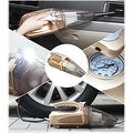 Multifunction Wet or Dry Handheld Duckbill Car Vacuum & Air Compressor - Thumbnail 0
