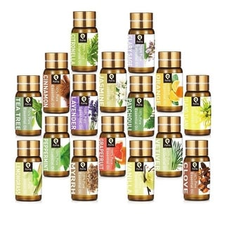 Link to Pyrrla 5Ml Essential Oil,100% Pure & Natural Aroma Therapeutic Grade Aromatherapy Essential Oil Basic Sampler Oils For Similar Items in Aromatherapy & Massage