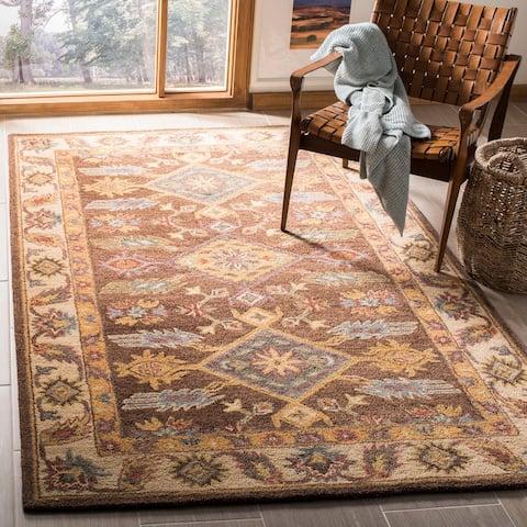 SAFAVIEH Handmade Antiquity Diana Traditional Oriental Wool Rug