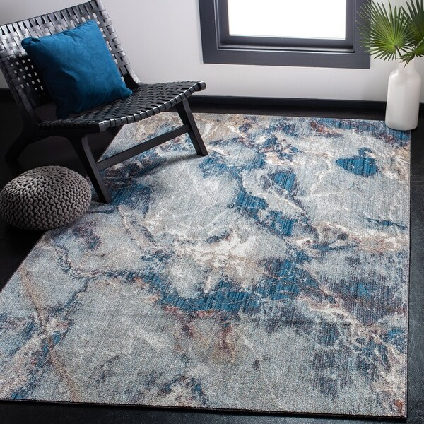 Safavieh Monray Aviana Modern Abstract Polyester Rug. Opens flyout.
