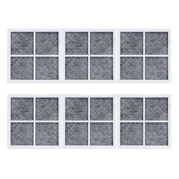 Replacement Air Filter Cartridge for LG WD-LT120F / Tier1 RWF1140 Filter Models (6 Pack)