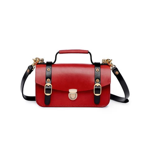 Old Trend Genuine Leather Snapper Crossbody