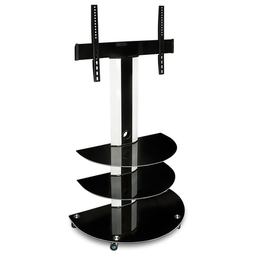 Shop Mount It Tv Cart Mobile Tv Stand With Mount And Av Shelves