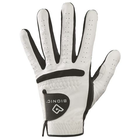 Bionic Men's RelaxGrip Black Palm Left Hand Golf Glove
