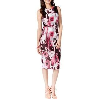 XOXO Womens Juniors Casual Dress Scuba Printed