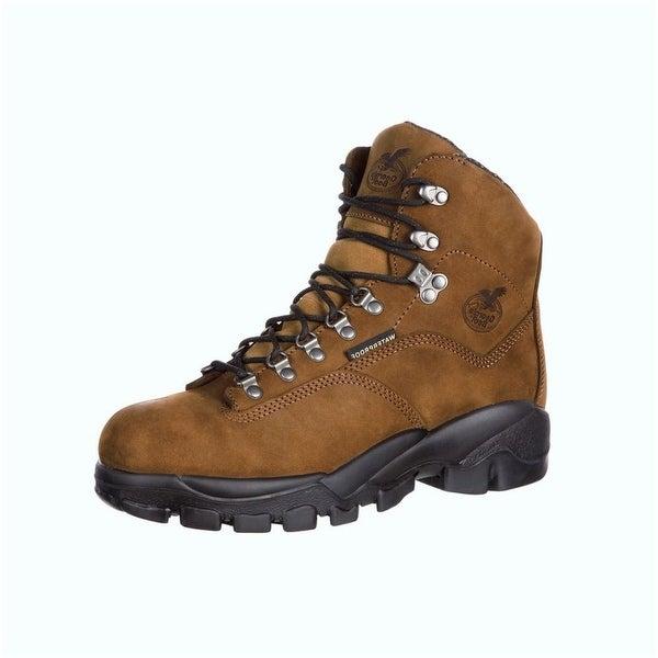 Georgia Boot Work Mens Suspension System ST Waterproof Brown