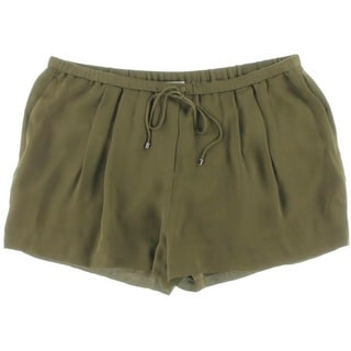 Haute Hippie Womens Silk Lined Casual Shorts - L