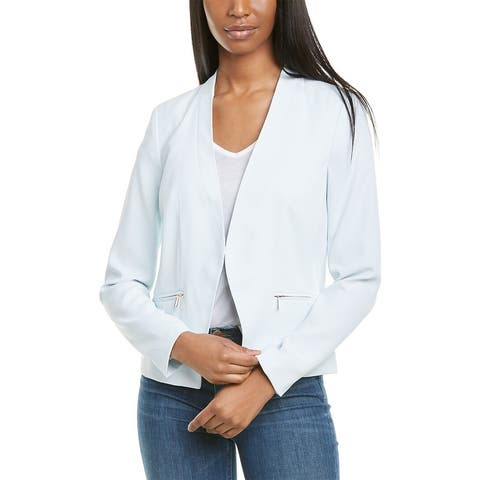 Karl Lagerfeld Zipper Pocket Blazer