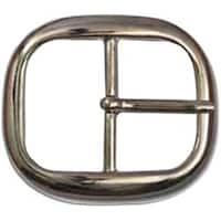 Nickel - Belt Buckle 1.5""