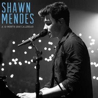 2018 Engagement Shawn Mendes Calendar Day Dream Free