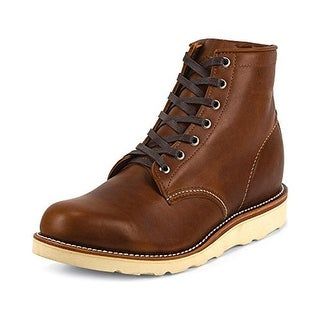 Chippewa Mens Lace-Up Boot Leather Signature