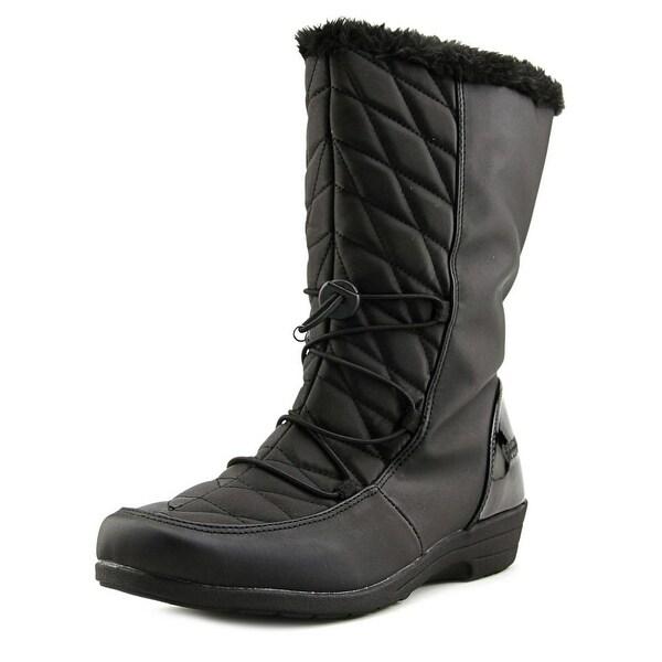 Boston Accent Polly Women Black Snow Boots