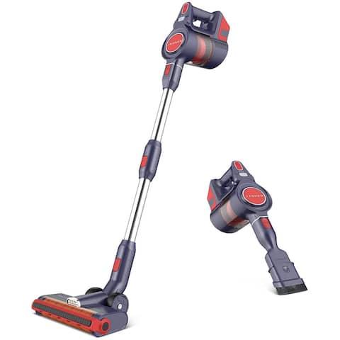 JASHEN D18 Cordless Stick Vacuum Cleaner, Cordless Vacuum for Hard Floors, Carpet Cleaning