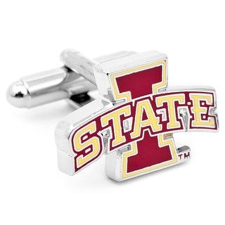 Iowa State Cyclones Cufflinks - Red