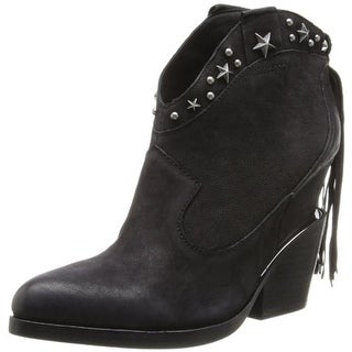 ASH Womens Loco Ankle Boots Leather Studded - 39 medium (b,m)