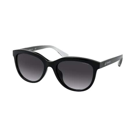 Coach HC8285U 50028G 56 Black Woman Pillow Sunglasses