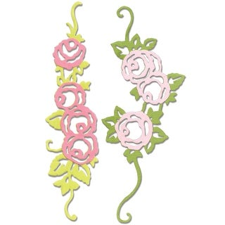 Sizzix Thinlits Dies 2/Pkg-Rose Border