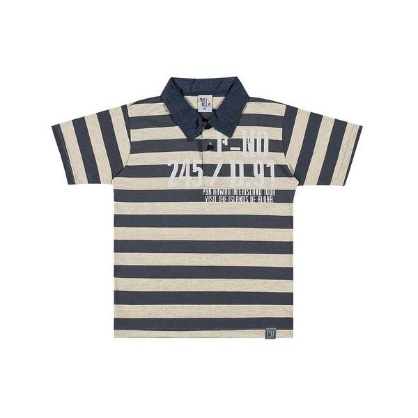 Boys Polo Style Shirt Striped Tee Pulla Bulla Sizes 2-10 Years
