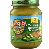 Earth's Best - Organic Zucchini Broccoli Medley ( 12 - 6 OZ)