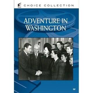 Adventure In Washington DVD Movie