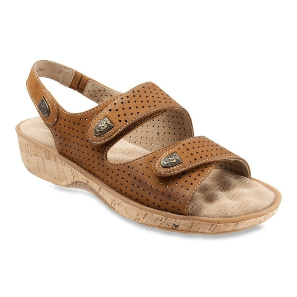 Softwalk NEW Beige Women Shoes Size 10.5M Bolivia Leather Sandal