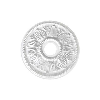 """Canarm FM-19A Tuscan Ceiling Medallion With 3-5/8"""" Center Opening - White - N/A"""