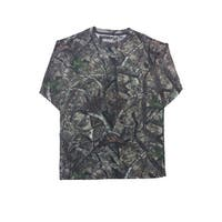 Camo Hunting Long Sleeve Shirt with PocketCamouflage Authentic True Timber S-5XL