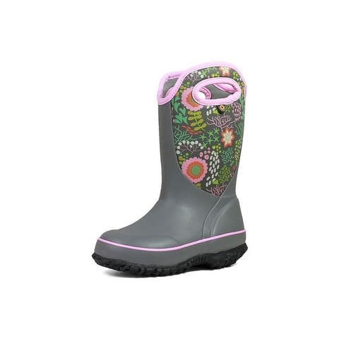 Bogs Outdoor Boots Girls Slushie Reef Pull On Waterproof