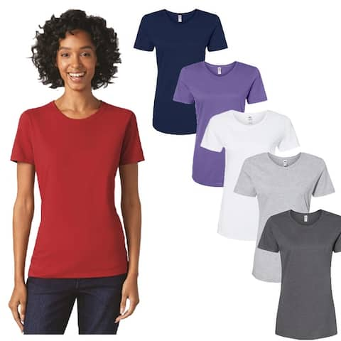 Fruit of the Loom Women's (6 Pack) T Shirts