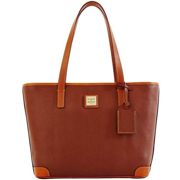 Dooney & Bourke Pebble Grain Charleston (Introduced by Dooney & Bourke at $198 in Aug 2012) - Amber