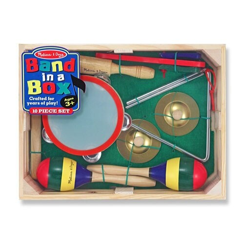 Melissa & Doug 488 Band-in-a-Box Clap! Clang! Tap!