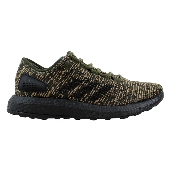 55d9d5799 Shop Adidas PureBoost Night Cargo Black Men s CG2986 Size 7 Medium ...