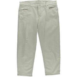 Calvin Klein Jeans Womens Boyfriend Destroyed Boyfriend Jeans - 33