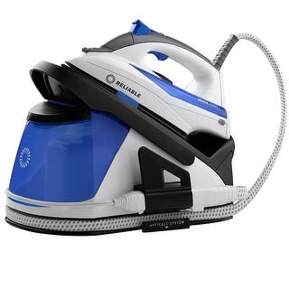 Reliable Senza 200DS Dual Performance Home Steam Ironing Station - White/Blue