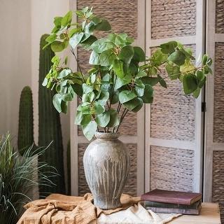 """RusticReach Artificial Plant Faux Bauhinia Leaf 34"""" Tall"""