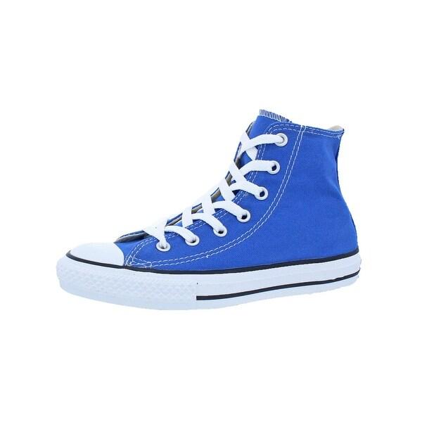 938b7e30f74f Converse Boys Chuck Taylor All Star High Top Fashion Sneakers Monogram  Fashion - 2 medium (