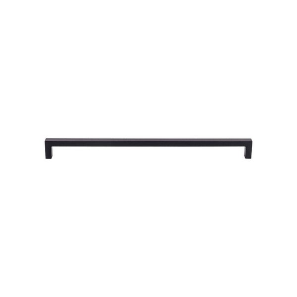 Top Knobs M2139 Nouveau III 17-5/8 Inch Center to Center Handle Cabinet Pull - Flat Black